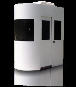 aluminum booth