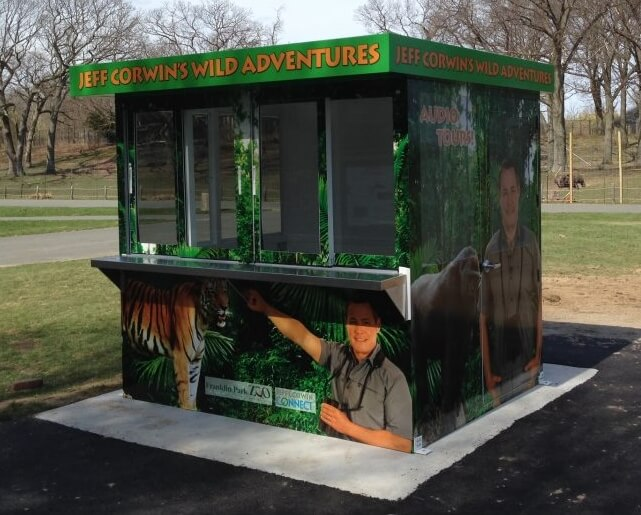 prefab building - ticket booth