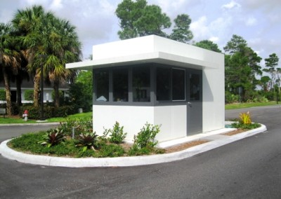 Entrance Booth