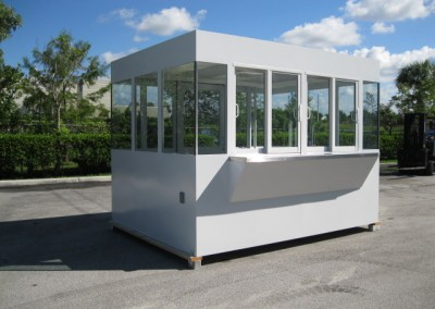 Car Rental Booth