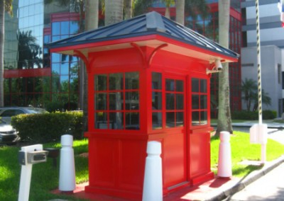 Entrance Security Booth