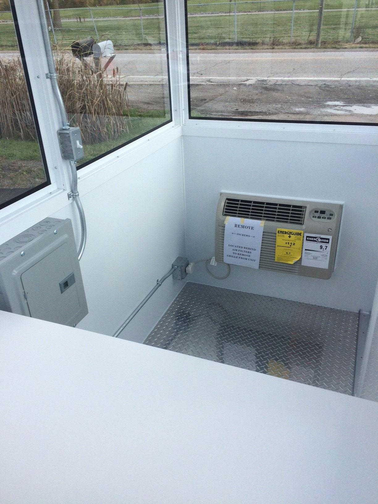 Prefabricated Aluminum Vista Series Booth