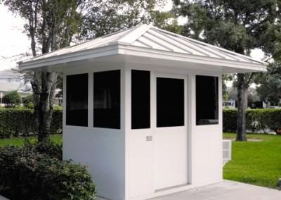 prefab security booth