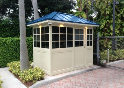 Aluminum Guard Booth