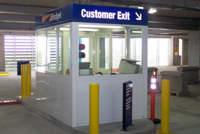 parking booth Model 6080-EB