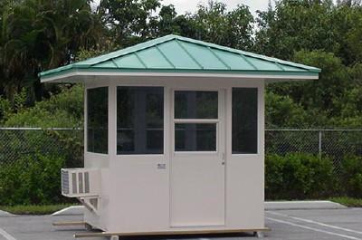 prefab guard booth