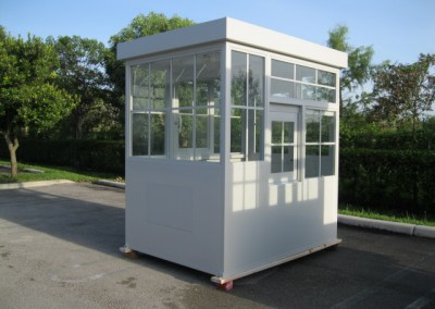 prefab parking booth