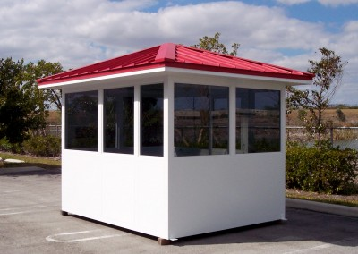 prefabricated booth