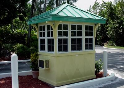 Custom Security Booth