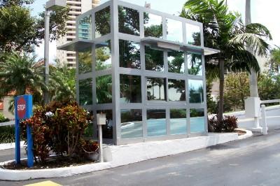 Condominium Guard Booth