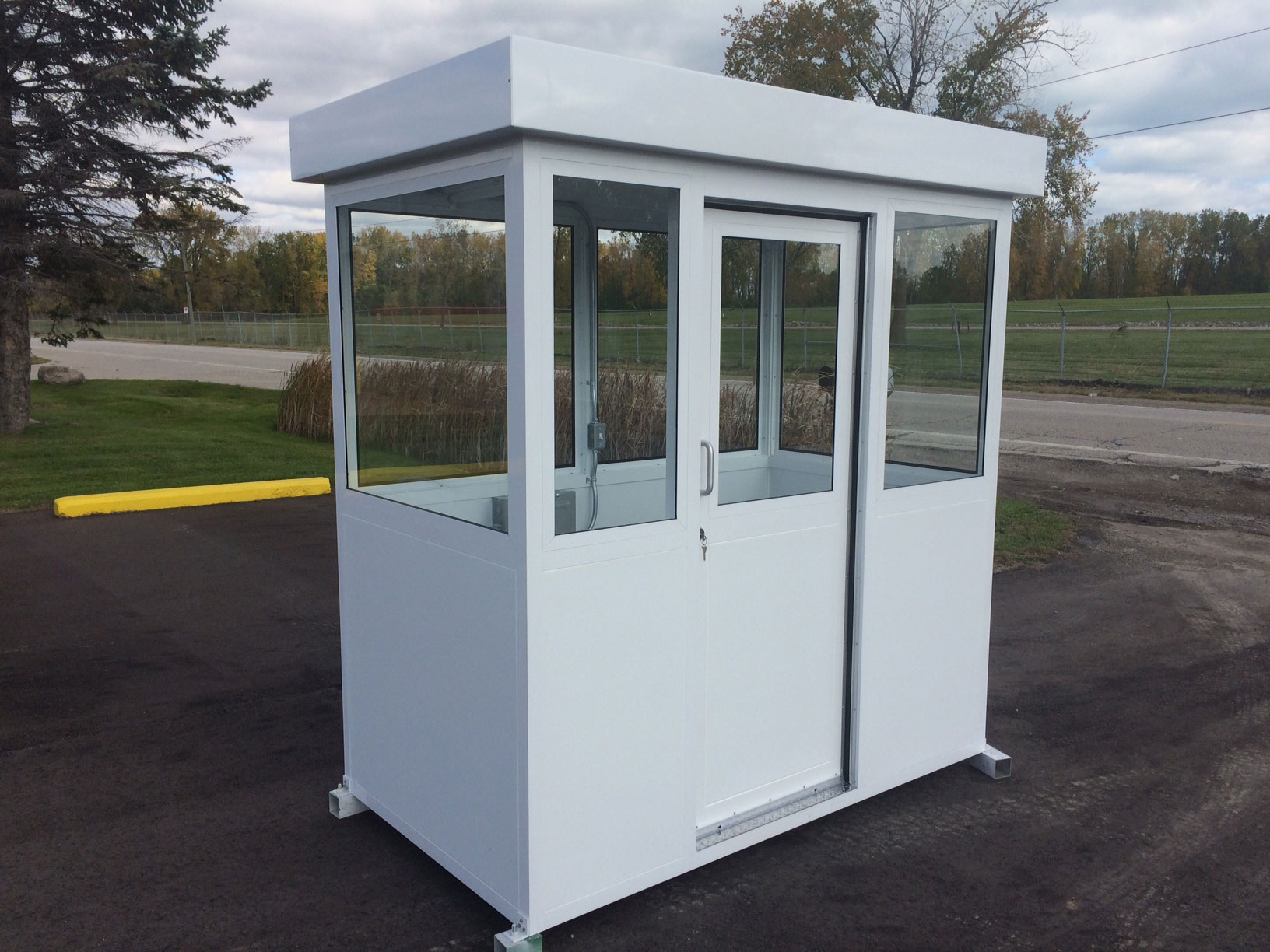 Prefabricated Aluminum Vista Series Booth