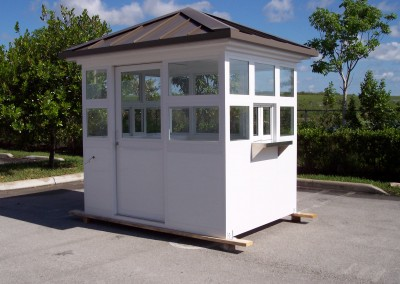 prefab ticket booth