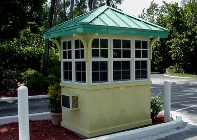 Custom Security Booth
