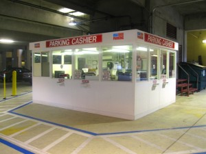 cashier booth
