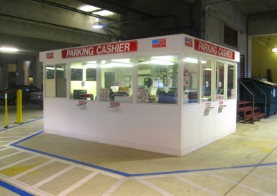Cashier Booths