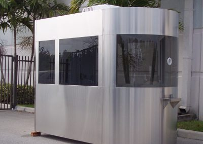 Stainless Steel Guard Booth - Omni