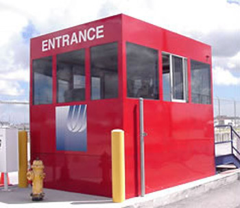 Entrance Booth - Vista