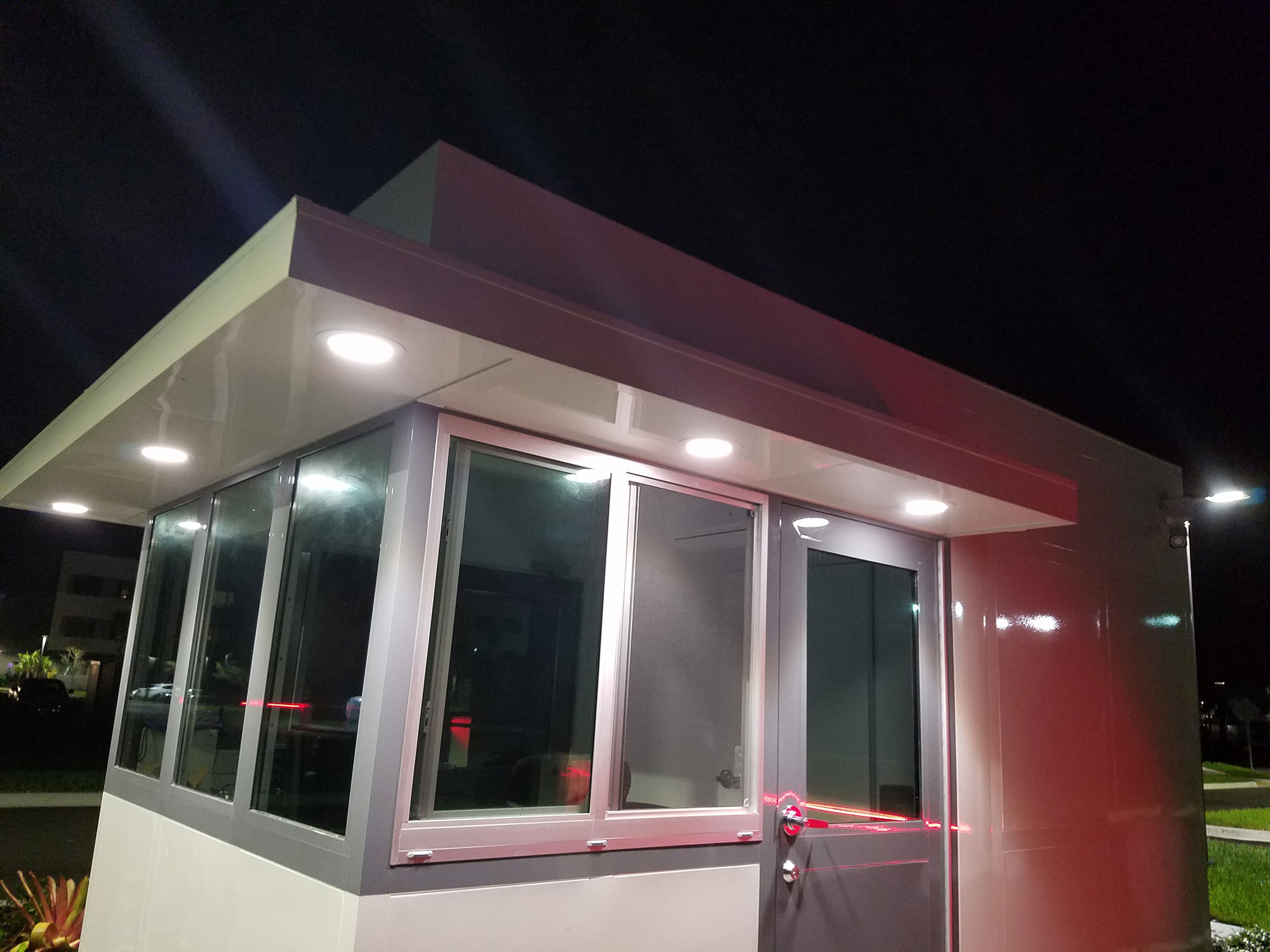 Guard Booth Exterior Lighting