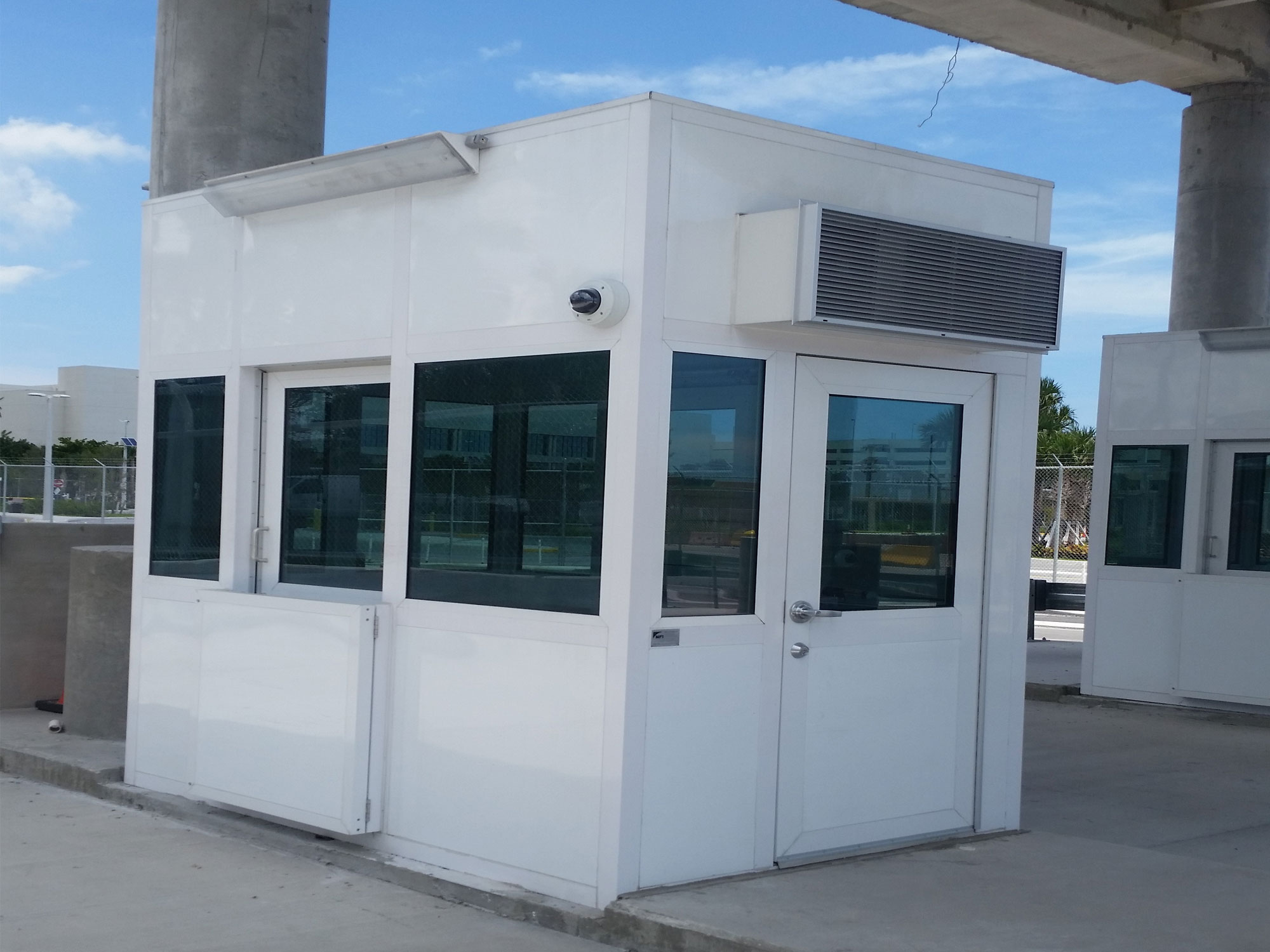 Guard Booth with Swing Door