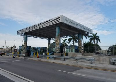 Checkpoint Booths