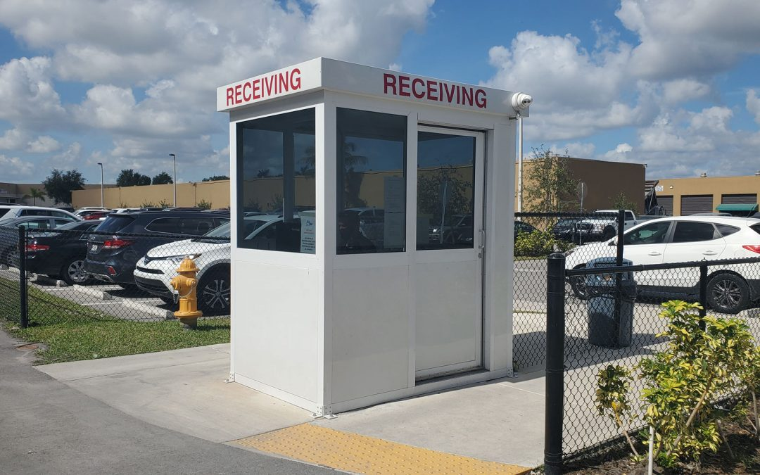 Security Booth of the Month